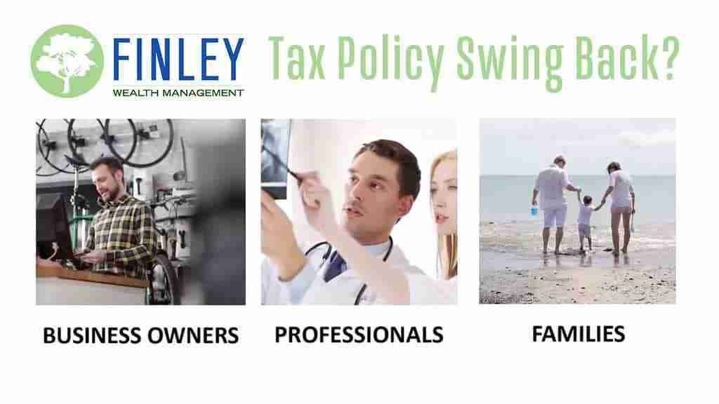 Be Prepared For A Tax Policy Swing Back