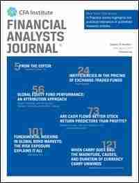 Financial Analysts Journal on Sustainable Investing
